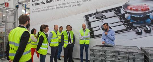 Gira Visita Las Instalaciones Del Bosch Competence Center De
